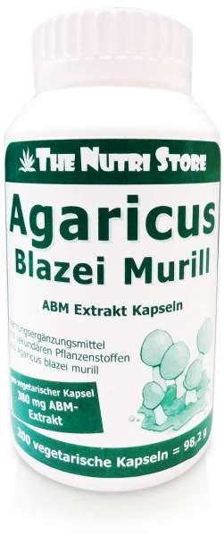 Agaricus Blazei Murill Extrakt Vegetarische Kapseln