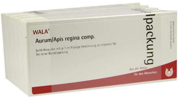Aurum Apis Regina Comp. Ampullen 50 X 1 ml