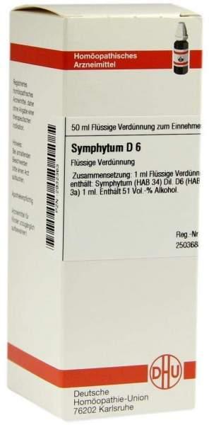 Symphytum D6 Dilution 50 ml Dilution