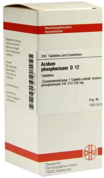 Acidum Phosphoricum D12 200 Tabletten