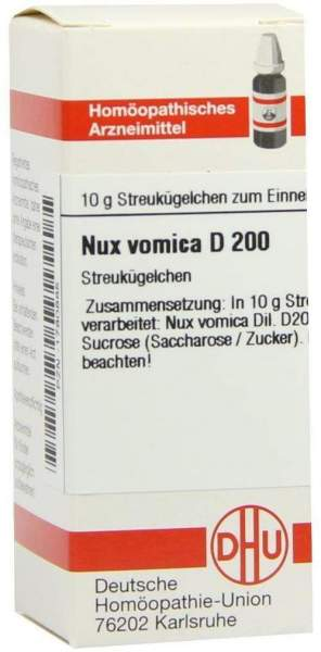Nux Vomica D200 10 G Globuli