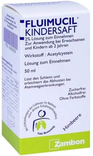 Fluimucil 50 ml Kindersaft