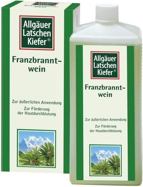 Allgäuer Latschenkiefer Franzbranntwein 1000 ml Lösung