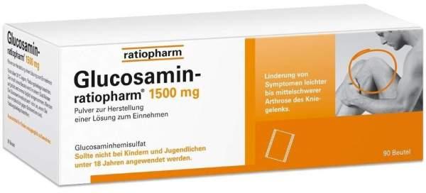 Glucosamin-ratiopharm 1500 mg 90 Beutel