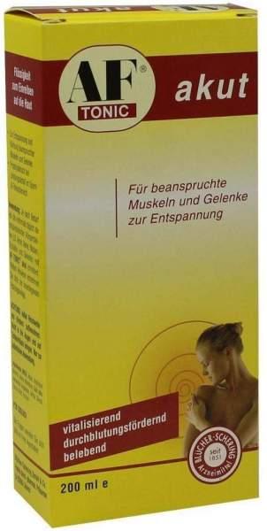 Af Tonic Akut Für Beanspruchte Muskeln und Gelenke 200 ml