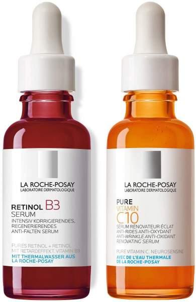 La Roche Posay Retinol B3 Serum 30 ml + pure Vitamin C Serum 30 ml