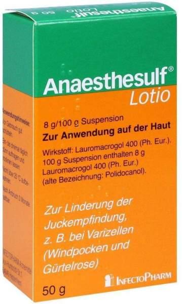 Anaesthesulf Lotio 50 G bei Nässenden Hauterkrankungen