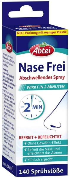 Abtei Nase Frei 20 ml Spray