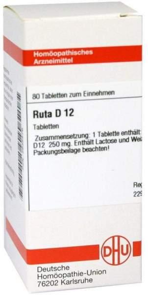 Ruta D12 80 Tabletten