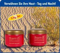 Bio-Vital Pflegeset Argan-Öl Tag- und Nachtcreme