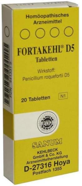 Fortakehl D5 20 Tabletten