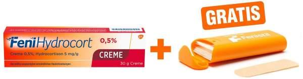 FeniHydrocort Creme 0,5 % 30 g + gratis Pflasterbox