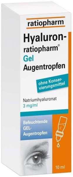 Hyaluron ratiopharm Gel 10 ml Augentropfen