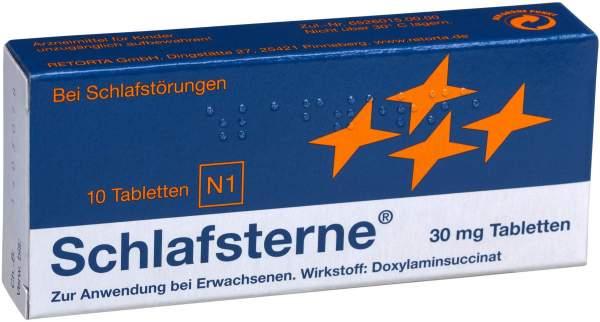 Schlafsterne 10 Tabletten