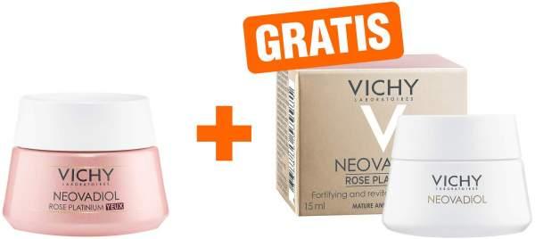 Vichy Neovadiol Rose Platinium Augencreme 15 ml + gratis Neovadiol Rose Platinium 15 ml