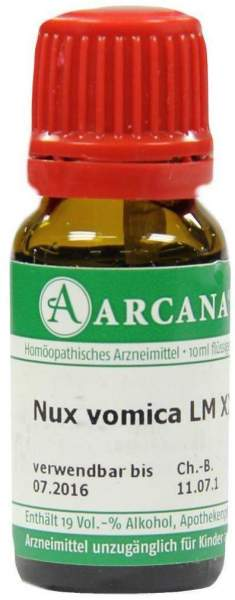 Nux Vomica Lm 30 Dilution 10 ml