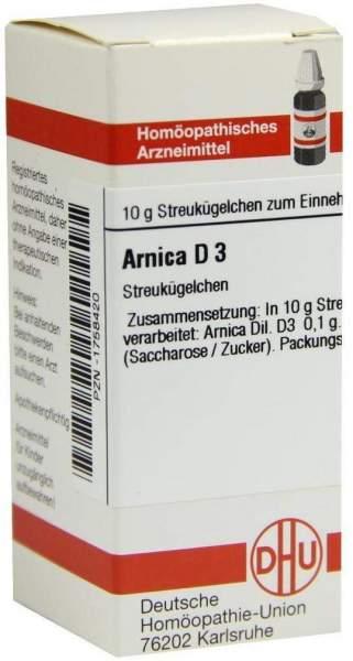 Arnica D3 10 G Globuli