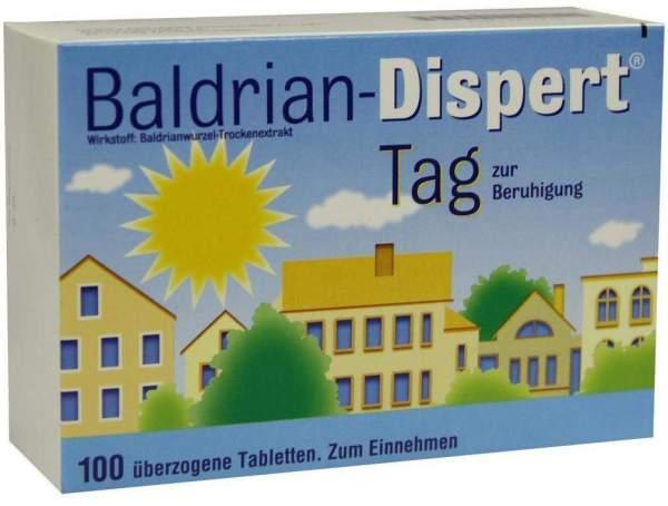Baldrian Dispert Tag 100 Überzogene Tabletten