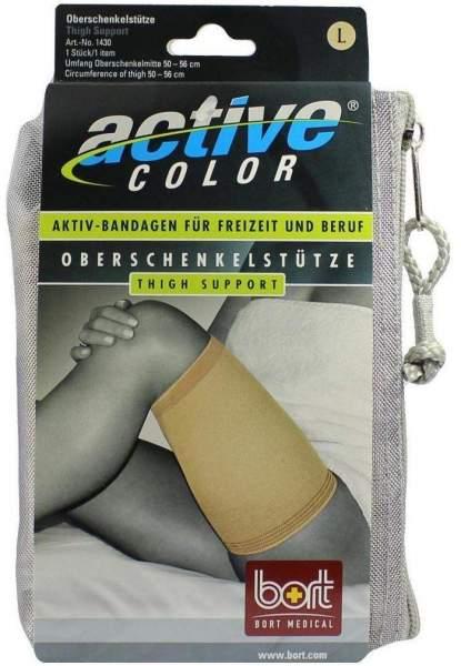 Bort Activecolor Oberschenkelstütze Large Hautfarben 1 Stück