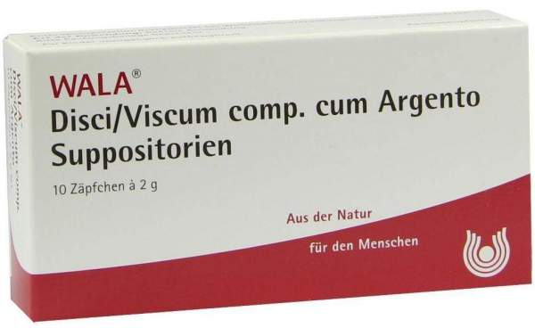 Wala Disci- Viscum Comp. Cum Argento Suppositorien