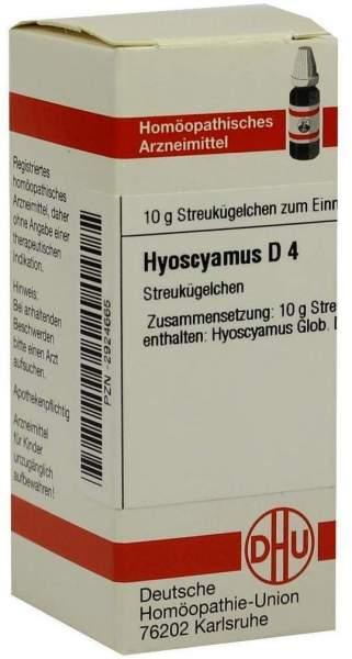Hyoscyamus D 4 Globuli