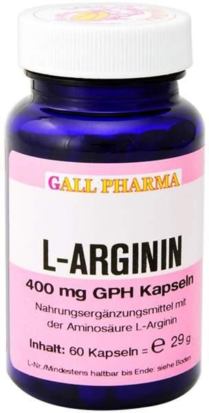 L-Arginin 400 mg 60 Kapseln