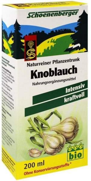 Schoenenberger Naturreiner Pflanzentrunk Knoblauch 200 ml