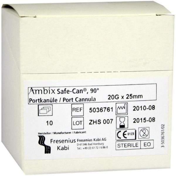 Ambix Safe Can Portpunktionskanülw 20gx25mm Gebogen