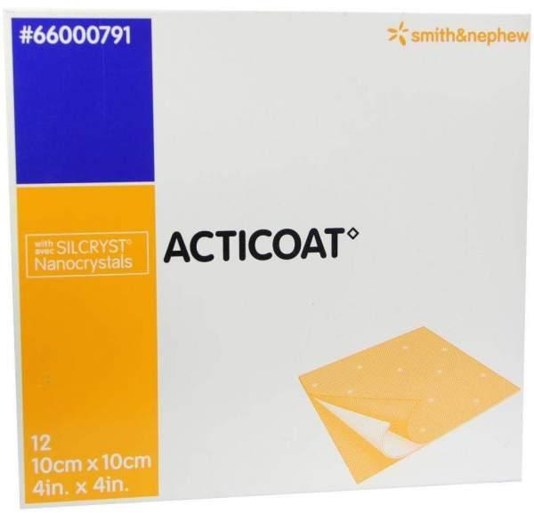 Acticoat 10x10cm Antimikrobielle Wundauflage