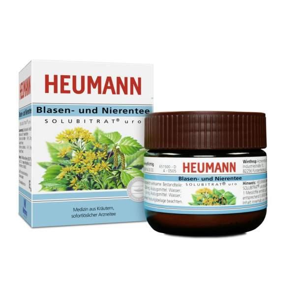 Heumann Blasen und Nierentee Solubritat uro 30 g Instanttee