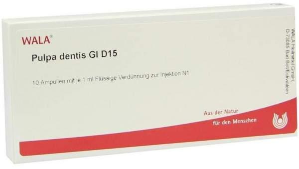 Pulpa Dentis Gl D 15 Ampullen