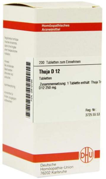 Thuja D 12 200 Tabletten