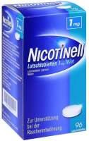 Nicotinell Lutschtabletten 1 mg Mint 96 Stück
