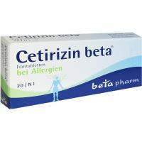 Cetirizin Beta 20 Filmtabletten