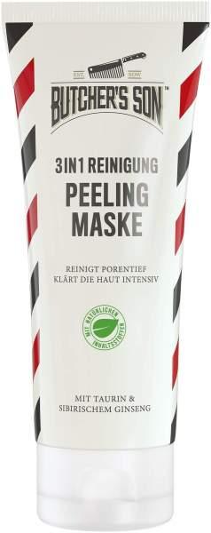 Butcher s Son 3 in 1 Reinigung Peeling Maske 100 ml Gel