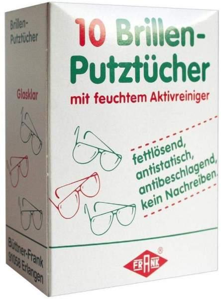 Brillenputztücher 10 Tücher