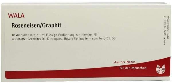 Wala Roseneisen Graphit Ampullen 10 X 1 ml