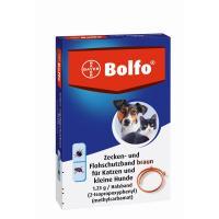 Bolfo Flohschutzband braun für Katzen und kleine Hunde
