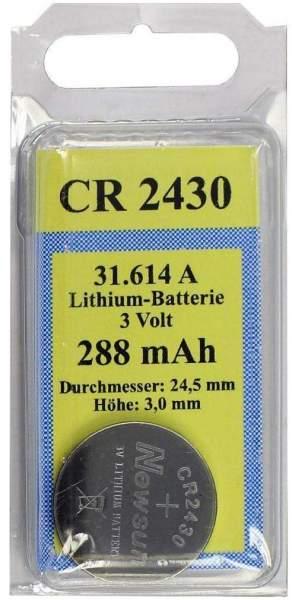Batterien Lithium Zelle Cr 2430 3 V 1 Stück