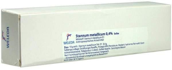 Weleda Stannum Metallicum 0,4% Salbe 70 G