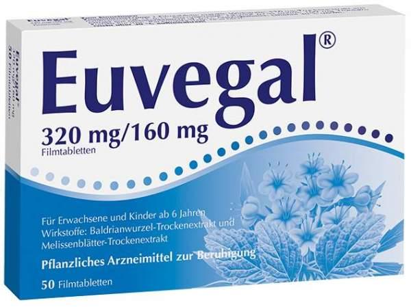 Euvegal 320 mg 160 mg 50 Filmtabletten