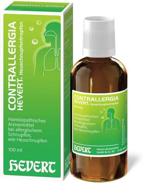 Contrallergia Hevert 100 ml Heuschnupfentropfen