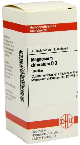 Magnesium Chloratum D 3 Tabletten