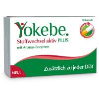 Yokebe Stoffwechsel aktiv PLUS Kapseln