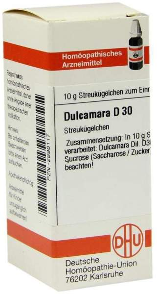 Dhu Dulcamara D30 10 G Globuli
