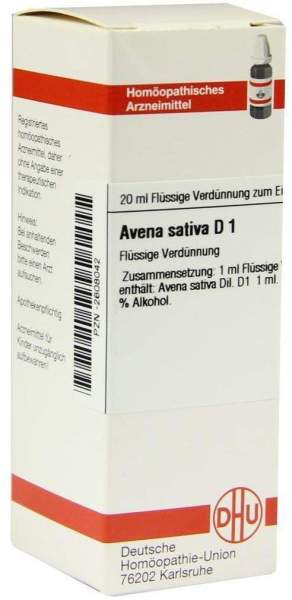 Avena Sativa D1 20 ml Dilution