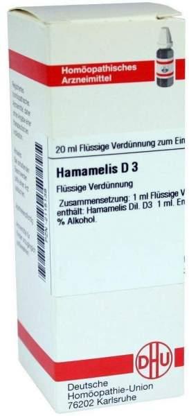 Hamamelis D3 Dhu 20 ml Dilution