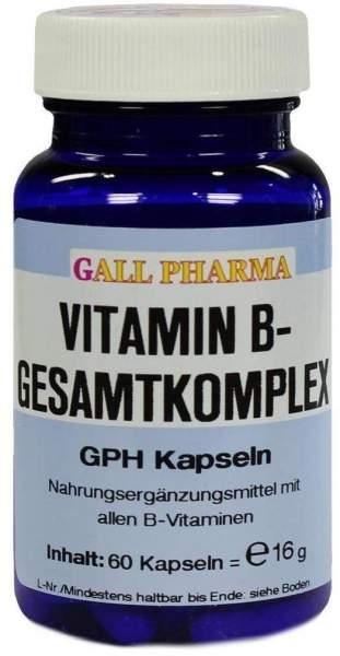Vitamin B Gesamtkomplex 60 Kapseln