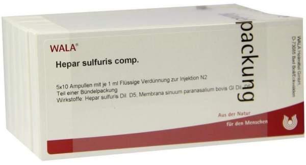 Hepar Sulfuris Comp. Ampullen 50 X 1 ml