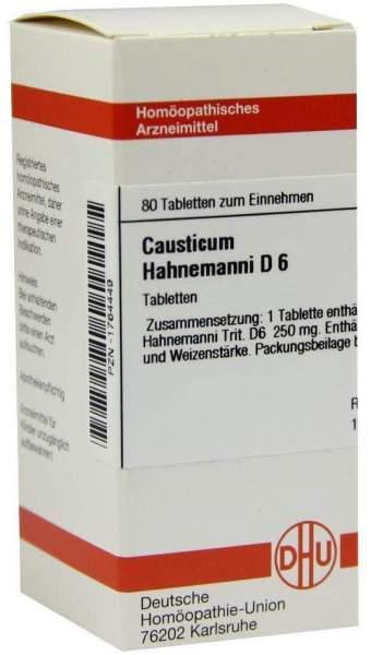 Causticum Hahnemanni D6 80 Tabletten
